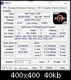 Klicken Sie auf die Grafik für eine größere Ansicht  Name:CPU-Z CPU.jpg Hits:16 Größe:39,7 KB ID:6470