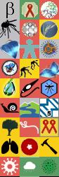 Alle Badges in einem Bild